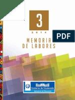 Memoria Labores2014  MINEDUC