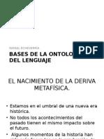 Bases de La Ontología Del Lenguaje