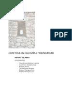 Investigacion Estetica en la culturas pre inca