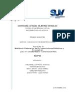 Generacion Net recomendacones didácticas y tecnológicas