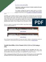Install LibreOffice 4.0 in Ubuntu 12.04-12.10 or 13.04 via PPA