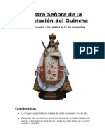 Virgen Nuestra Señora de la Presentacion del Quinche