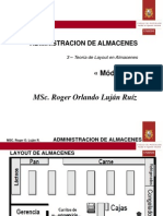 II-3 - Teoria de Layout en Almacenes