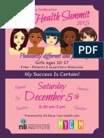 5th Annual Girls Health Summit
