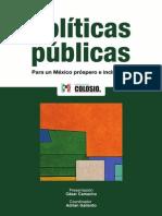 Politicas Publicas Para Un México Próspero e Incluyente