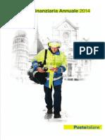 Relazione Finanziaria Annuale 2014
