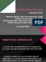 Psicología Educacional PowerPoint