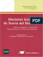 Diecisiete Lecciones Teoria Derecho (Resumen 1)