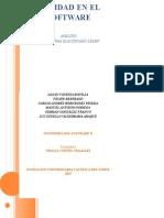 Calidad en El Software - Grupo Isii 1