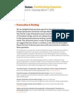 Transition Design Provocation