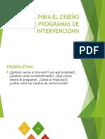 Manual Para El Diseño de Programas de Intervenciónn