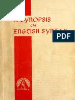 Synopsis of Englis 00 Nida