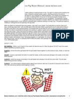 Belson Outdoors Pig Roast Manual