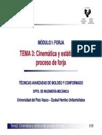 tema3 cinematica y estatica del proceso de forja