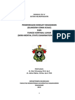 Manual CSL IV Pemeriksaan Derajat Kesadaran Fungsi Kortikal Luhur