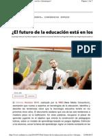 El Futuro de La Educacion