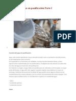 Función Del Agua en Panificación Parte I