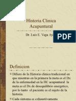 Historia Clinica Acupuntural 30-06 Dr. Luis Vega