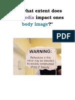 critical thinking- body image unit