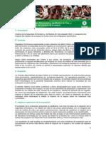 TdR Consultoría para analisis sobre Medios de Vida
