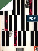 193356062 Jazz Club Piano Solos Vol 3 Easy Piano Facil Partiruras