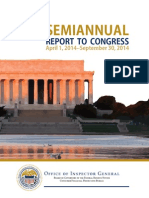 OIG Semiannual Report September 2014