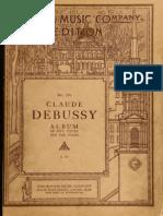 Album of Five Piece 00 Claude Debussy no 134