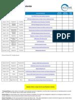 December 2015 Regulatory Compliance Calendar