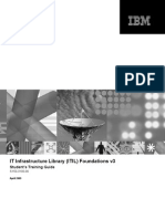ITIL Book from IBM, IT Service Management