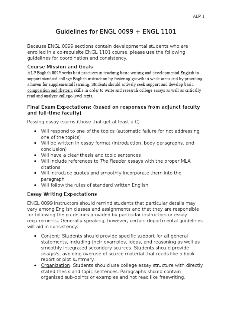 writing expectations for engl 2141 English composition i (engl 1204) 6206532141 cfeist@usd431net classroom policy instructor's expectations of students in class.