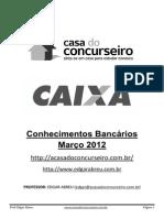 Apostila de Conhecimentos Bancários CAIXA ECONOMICA FEDERAL