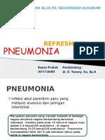 Refreshing Pneumonia
