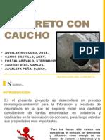 Concreto Con Caucho Expo