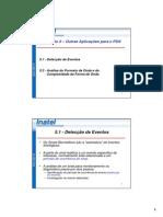 Outras Aplicações Para o PDS