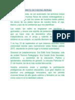 Libreto de Fiestas Patrias 2015