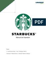 Manual de Impresion Starbucks