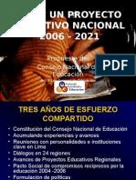 Proyecto Educativo Nacional PERU