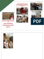 Folder Convite Culminância Eletivas e Clube Juvenil - 2º Semestre