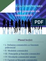PSIHOLOGIA COMUNICĂRII Tema 1.ppt