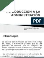 01 Introduccion a La Administracion