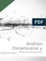 Solucionario Analisis Dimensional y Semejanza Hidraulica