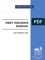 Debt Issuance Manual 2007