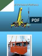 C 7 Crane Personal Platform
