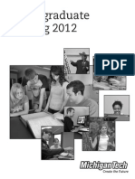 Michigan Tech Catalog 2012