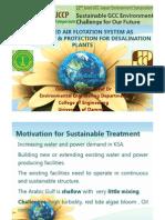 Daf Preteatment for Desalination Plant