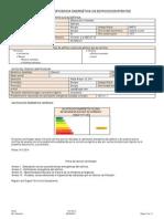 Certificado Eficiencia Energetica Bloque 8 Viv