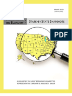 State-by-State Economic Snapshot of the U.S.