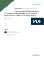 Article Phytothérapie Fredolia