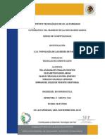3.3.1 Topología de Las Redes de Paquetes