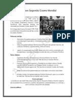 Resumen Segunda Guerra Mundial